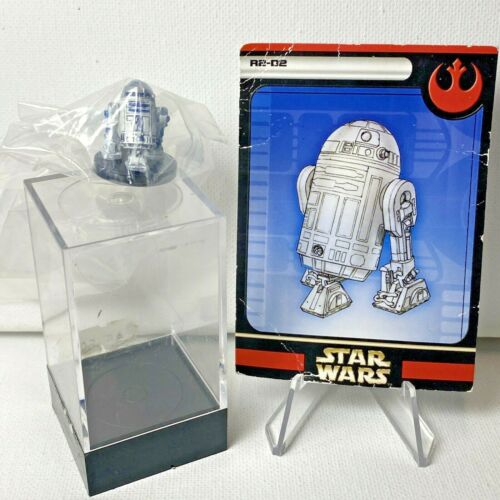 R2-D2 #14 Rare Rebel Storm w/ Card Star Wars Miniatures mini RPG Legion Assault