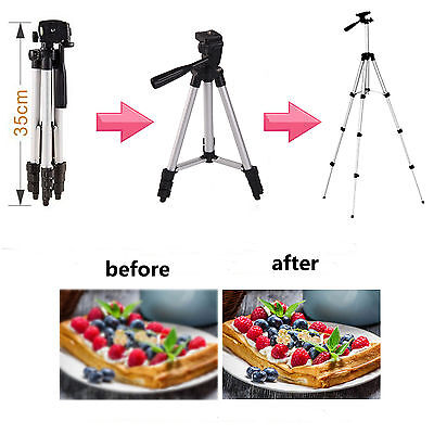 Professional Camera Tripod + Stand Holder For Apple iPhone X 8 Plus XS XR 7 6S 5