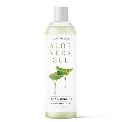 Natursense Organic Aloe Vera Gel Ideal Para Rostro, Cabello,