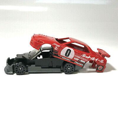 HOT WHEELS unspun Nissan Skyline GT-R R34 NIGHT BURNERZ Loose Pre-production