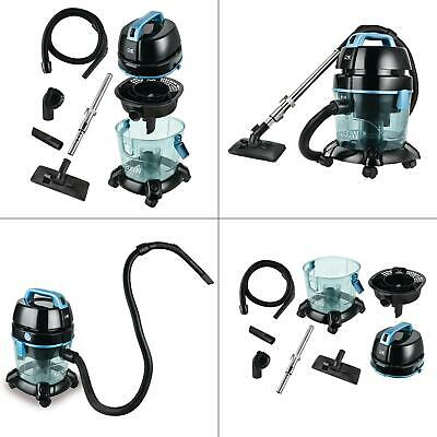 water filtration canister vacuum cleaner | kalorik floor blue bare cyclonic wet ()
