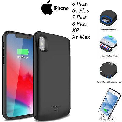 External Battery Case 5500 mAh Slim Power Charging Cover iPhone XSMax 6 7 8 Plus