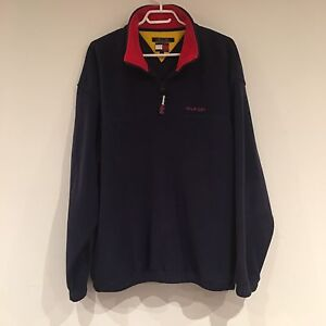 VTG 1990s Tommy Hilfiger 1/4 Zip Performance Fleece