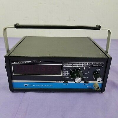 Data Precision 5740 Industrial Portable 115v Multifunction Frequency Counter