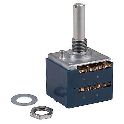 Alps Rk27 250ka Audio Taper Potentiometer Solid Shaft