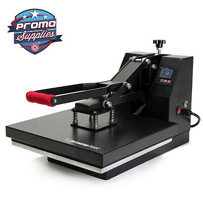Heat Press T-shirt Heat Transfer Sublimation Machine 15 X 15 - Black Clamshell