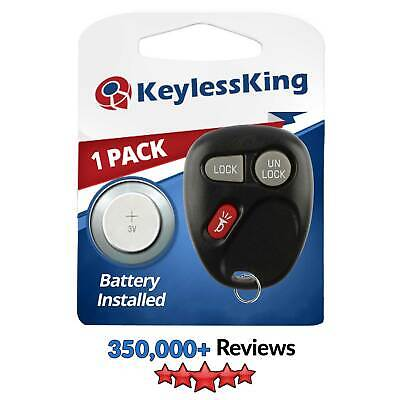 Replacement for Chevrolet S10 - 2001 2002 2003 2004 1xt Keyless Entry Car Remote