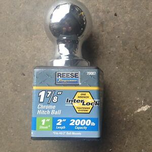 "New Reese 1 7/8"" Ball"