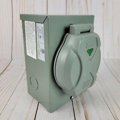 30 Amp Power Inlet Box Nema 3r Nema L14-30p Pb30 125250v Gen Transfer Switch