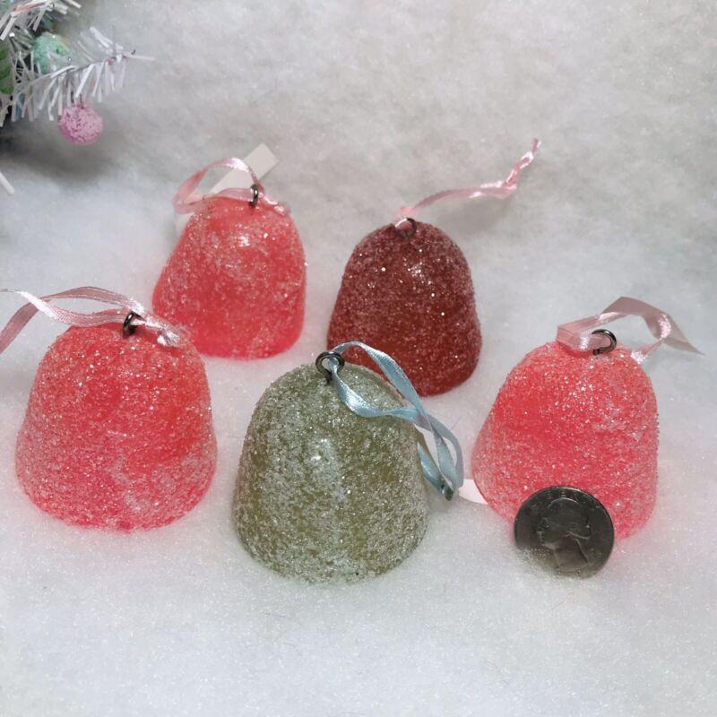 Gumdrop Christmas Tree Ornaments, 5, (fake) Sugar Coated
