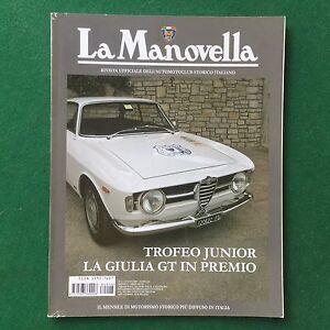 LA-MANOVELLA-n-6-Giugno-2008-ALFA-ROMEO-GIULIA-GT-JUNIOR-Rivista-Magazine-Auto