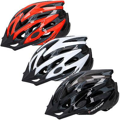 Dunlop Fahrradhelm Radhelm MTB Fahrrad Helm Helme Kinder Erwachsene uni ()