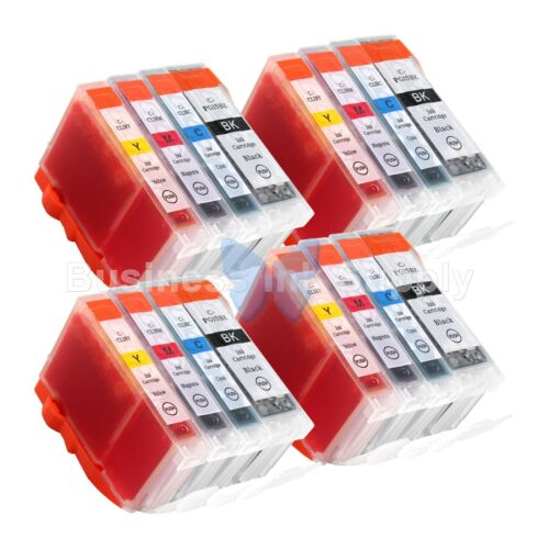 16 Pk Pgi-5 Cli-8 Ink Tank For Canon Pixma Mx700 Ip3300 I...