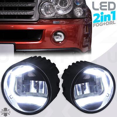 LED DRL Fog Lamps light for Range Rover Sport 2005-09 day running front 2in1 kit