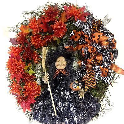 SALE! Witch HALLOWEEN Wreath 26