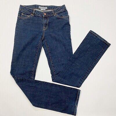 ZARA Woman Straight Leg Mid Rise Jeans - Size 6