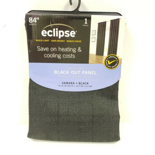 Eclipse Samara Blackout Energy-Efficient Thermal Curtain Pan