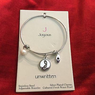 Unwritten Adjustable Charm Bracelet- Joyous