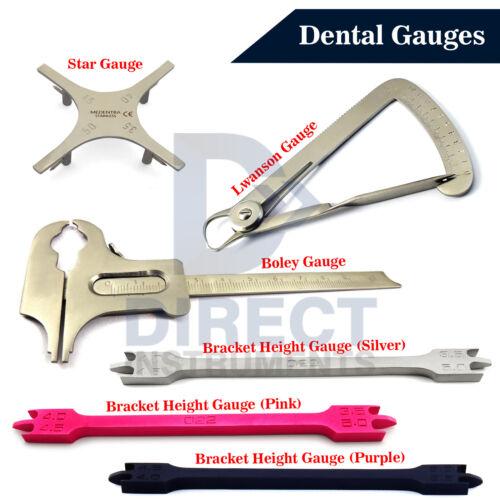 MEDENTRA Dental Gauges Bracket Positioning Measuring Height Gauge Caliper Crown