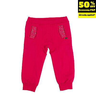 SO TWEE BY MISS GRANT Jogger Trousers Size 6Y Embellished Elasticated Waist