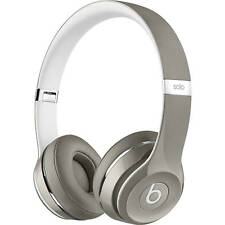 Beats by Dr. Dre Solo2 Silver Luxe Edition Wired On Ear Headphones MLA42AM/A