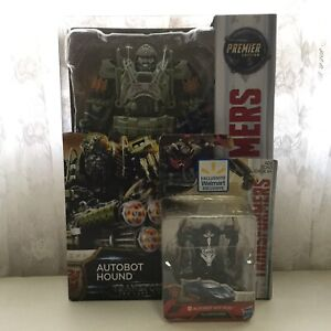 Transformers Last Knight Autobot figures lot Hound and Hot Rod MISB Rosebery Inner Sydney Preview