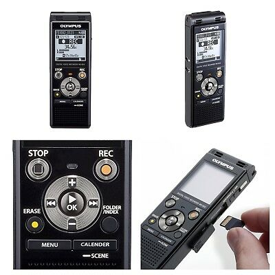 Olympus Digital Voice Recorder Stereo USB Micro SD Card Slot 8gb Internal Memory