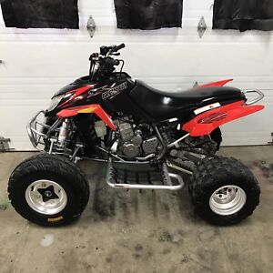ARTIC CAT DVX 400 2008 ROUGE CONDITION SHOWROOM