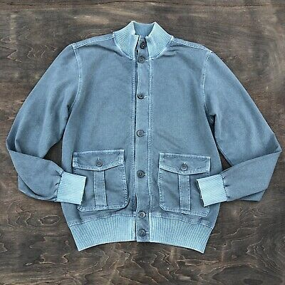 CIRCOLO 1901 Jacket Blue Green Stretch Mens Large