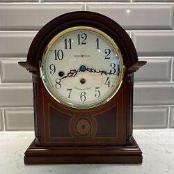 Howard Miller Model 613-180 Mantle Clock w/Key Westminster Chime