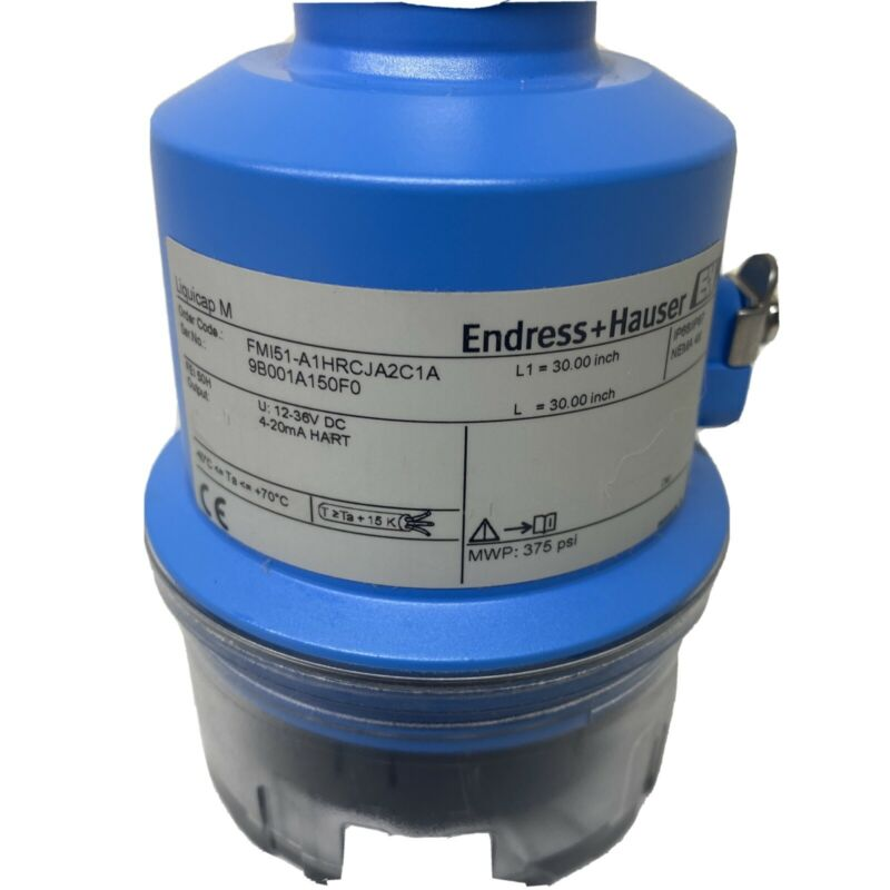"Endress & Hauser FTI51 Liquicap M  Level Probe 30"" FMI51-A1HRCJA2C1A"