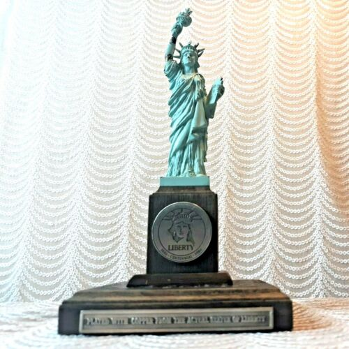 Danbury Mint Statue of Liberty 1986 Centennial Copper Plated from Actual Statue