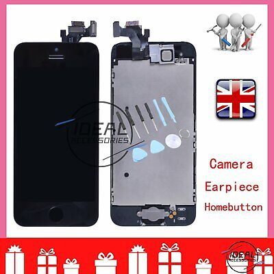LCD For iPhone 5 Display Black Touch Screen Digitizer Full Assembly Replacement