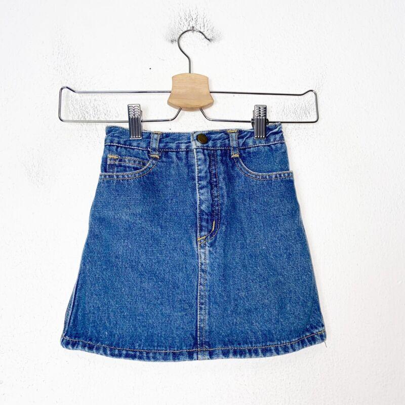 Vintage Guess Blue Denim Skirt Girls Size 6