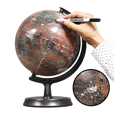 "Mapsoft  Explorer Mars Globe, 24cm/9.5"", R-24"