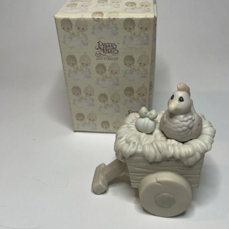 Precious Moments Nativity Cart Nativity Addition 528072 with Box