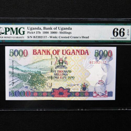 UGANDA 10 Shillings 1982 P-16 UNC Uncirculated