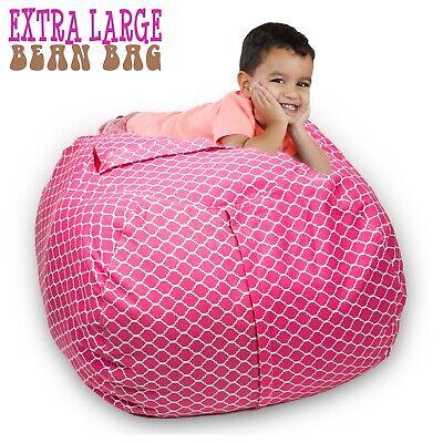 Stuffed Animal Storage Bean Bag Chair 38