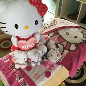 Twin Hello Kitty bed set