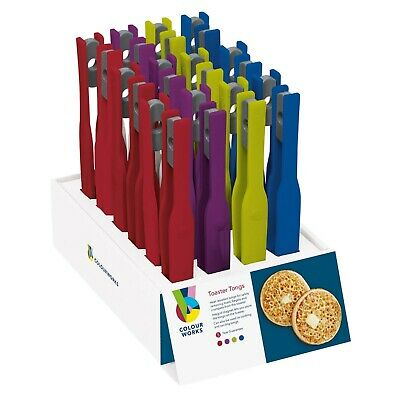 kitchen craft Colourworks Coloured Toaster Tongs