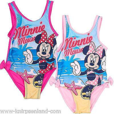 Badeanzug Disney Minnie Mouse Maus Baby Kinder Bade Anzug Mädchen 68 74 80 86