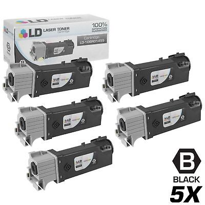 LD © Compatible Xerox 106R01455 Set of 5 Black Phaser 6128MFP 6128MFP/N