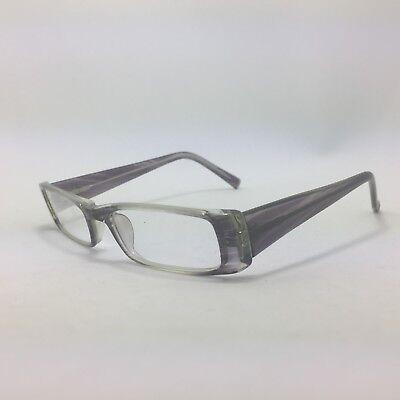 Blue Haze Attitudes 18 Eyeglasses Frames Blue Gray Fade Rectangle (Attitude Glasses Frames)