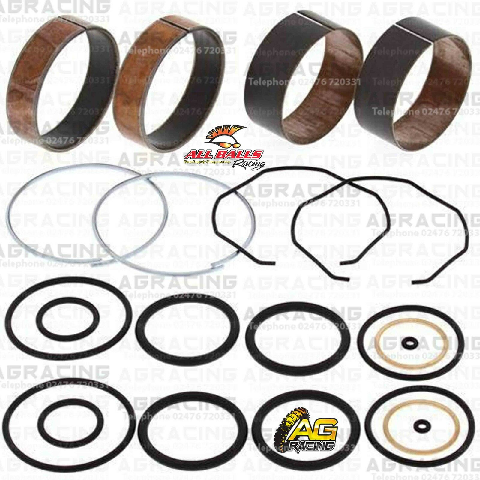 All Balls Fork Bushing Kit For Kawasaki KX 250 2005 05 Motocross Enduro New
