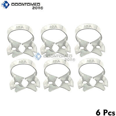 6 Endodontic Rubber Dam Clamp 12 A