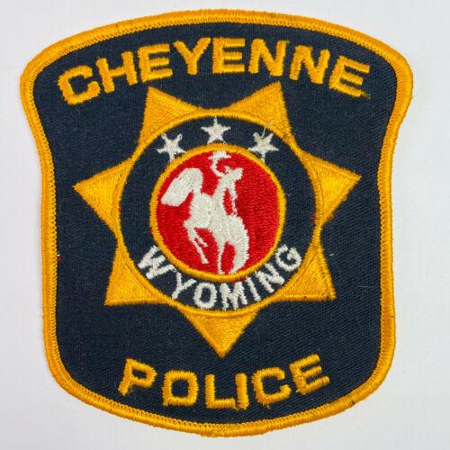 Cheyenne Police Wyoming WY Patch