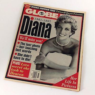 Sweet 16 Souvenirs (Diana Globe Tabloid Double Souvenir Issue Sept 16, 1997 Farewell Sweet)