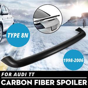 FOR CARBON FIBER AUDI 1998-2006 TT 8N TTS RS STYLE REAR WING TRUNK SPOILER