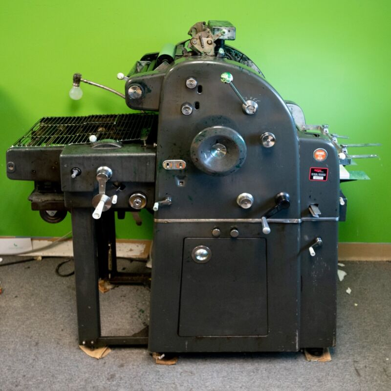 AB Dick 360 Chain Delivery Offset Printing Press (Runs 11x17)