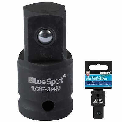"BlueSpot Impact Adaptor Socket Converter Reducer 1/2""  Female to 3/4"" Male Drive"